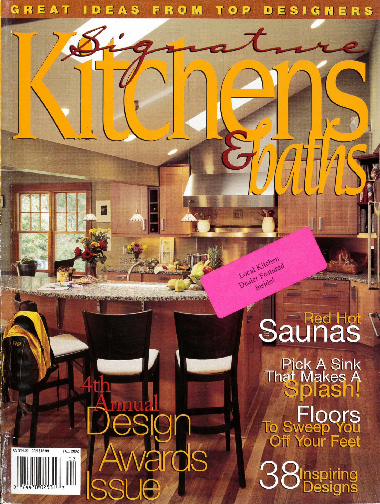 Signature Kitchen & Bath Ideas,Fall 2002