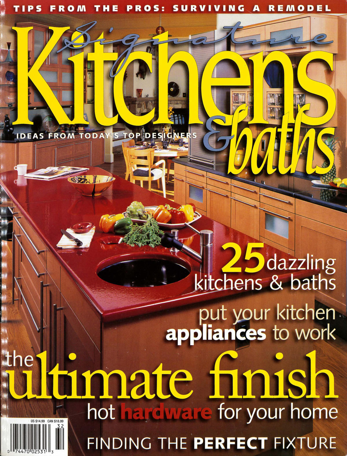 Signature Kitchen & Bath Ideas,Summer 2003