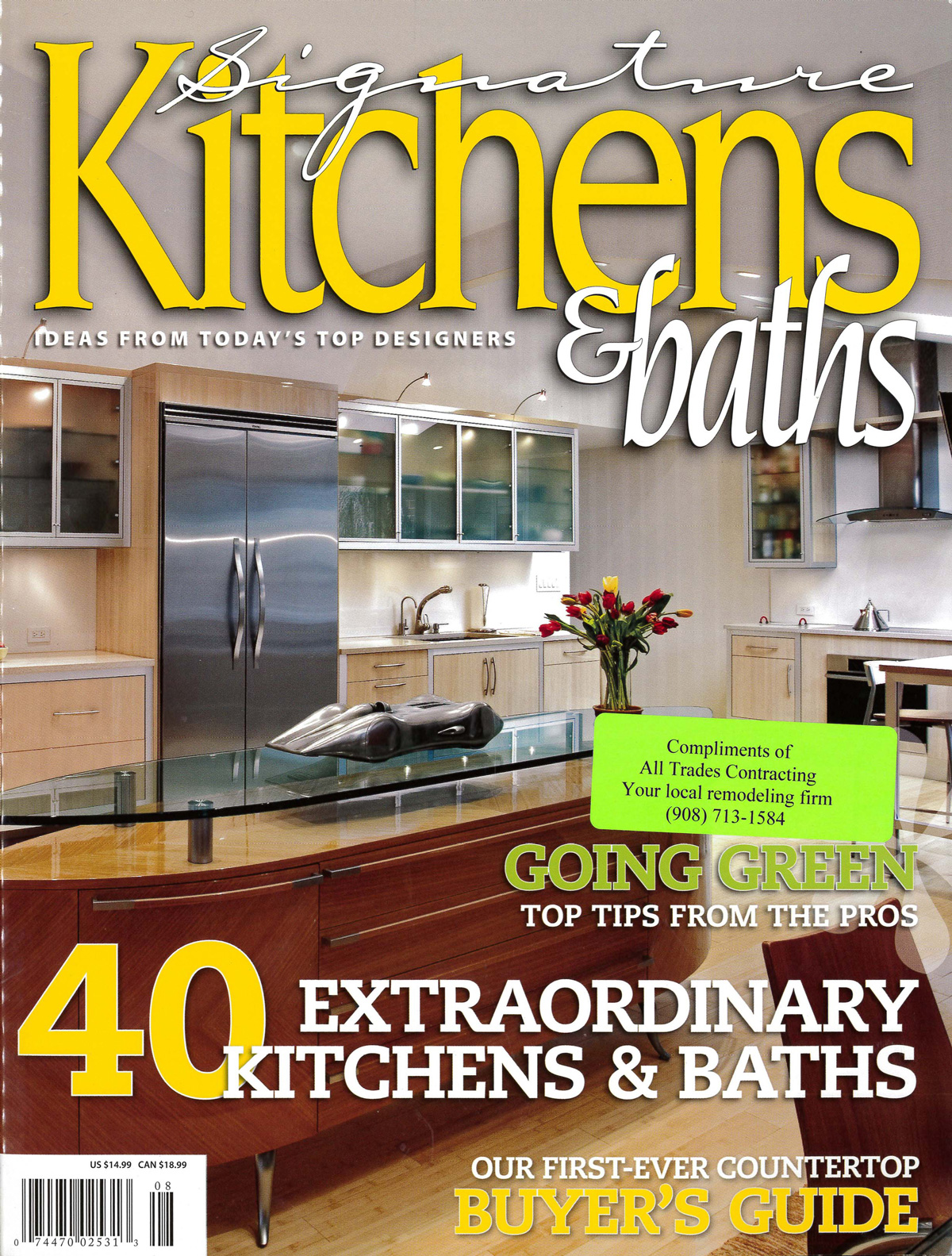 Signature Kitchen & Bath Ideas,Summer 2007