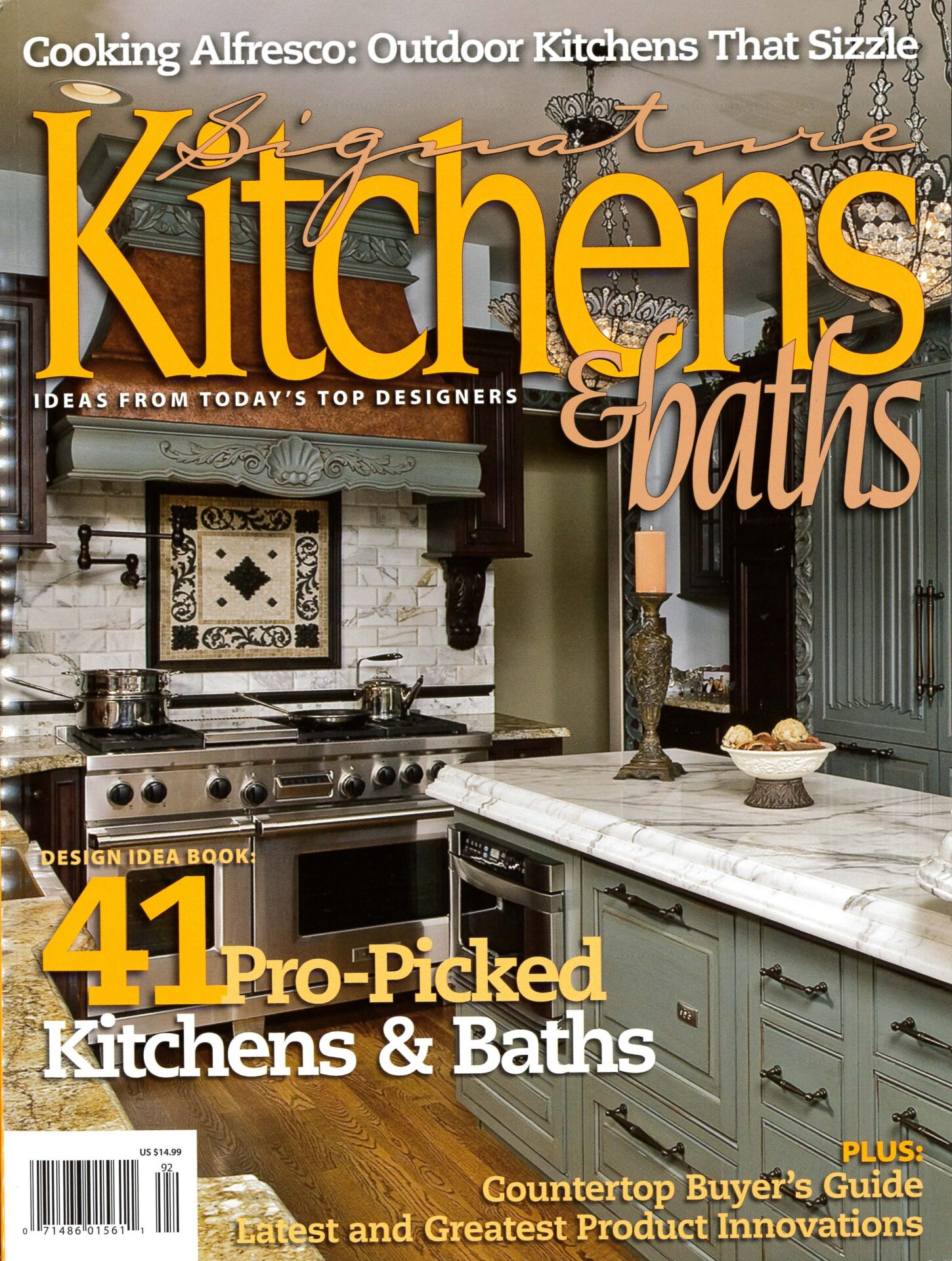 Signature Kitchen & Bath Ideas,Summer 2009
